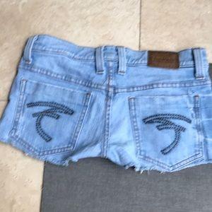 Frankie B limited edition denim shorts